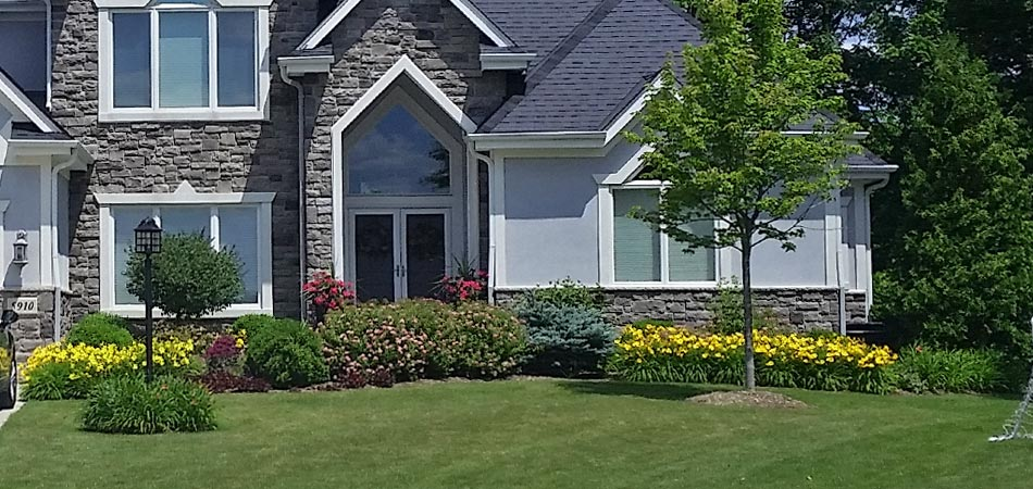 This homeowner's property services as a prime example of the results Brookfield, WI residents can expect from the full service package offering from Beautiful Blooms Landscape & Design, LLC.