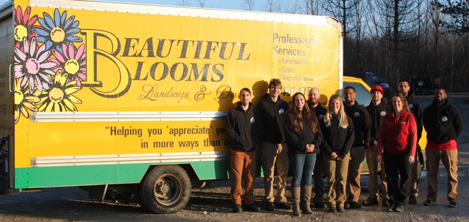 The full complement of Beautiful Blooms Landscape & Design, LLC team members are always ready to serve our customers in Brookfield and beyond.